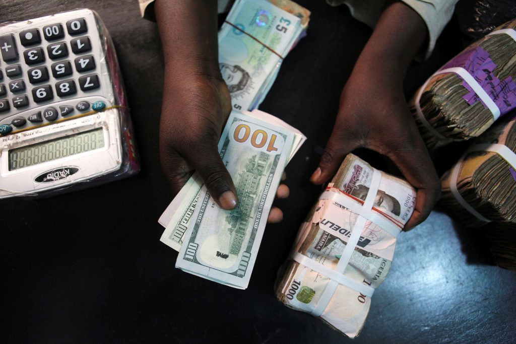 Nigeria Daily parallel market exchange rate (December 13th 2019)